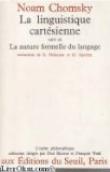 La linguistique cartésienne