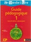 Un Monde a Lire CP Guide Pedagogique 1 Livre du Maitre
